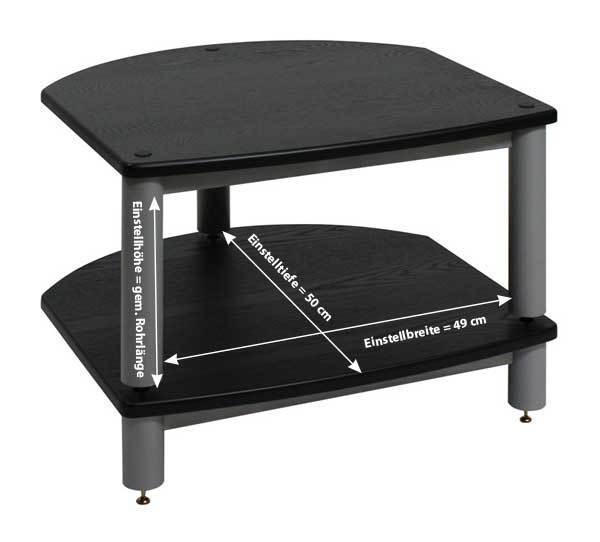 empire precision hifi rack mc 1 7 cb kirsche hell echtholzfurniert schwarz empire deutschland. Black Bedroom Furniture Sets. Home Design Ideas
